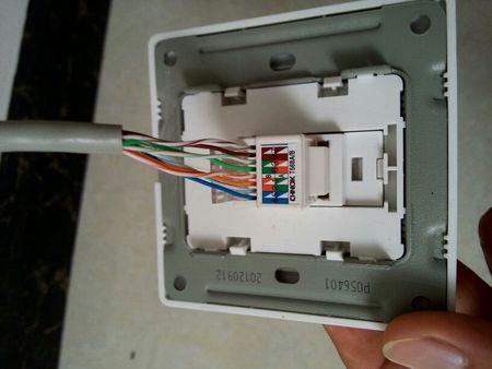 网线插口怎么接线?