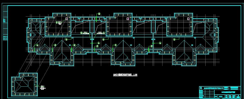 土建建筑图cad不显示大部分字,结构图显示!