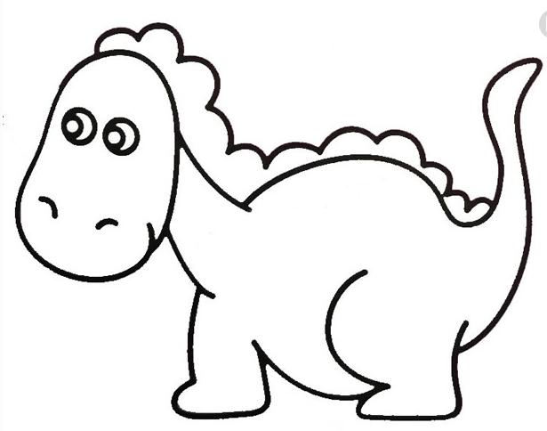 最简单的恐龙是什么龙怎么画简笔画