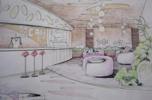 谁有酒吧手绘效果图 请发给我