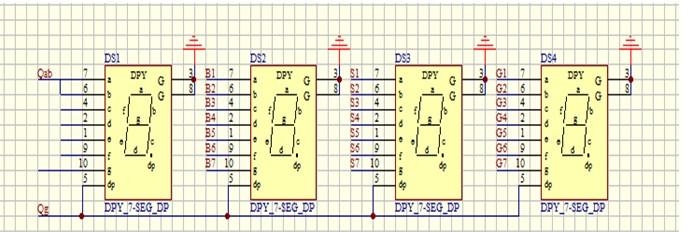 proteus7.7中找不到dpy_7-seg_dp ,能用什么元件代替?