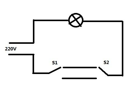 房间的单位双控开关怎么接线?