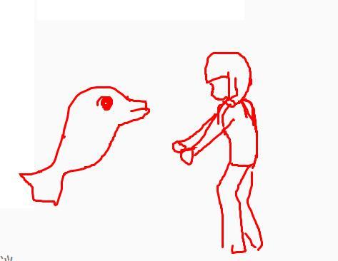 一步一步教海豚跳跃怎么画