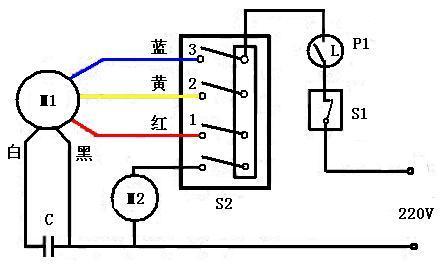 电风扇的电路符号