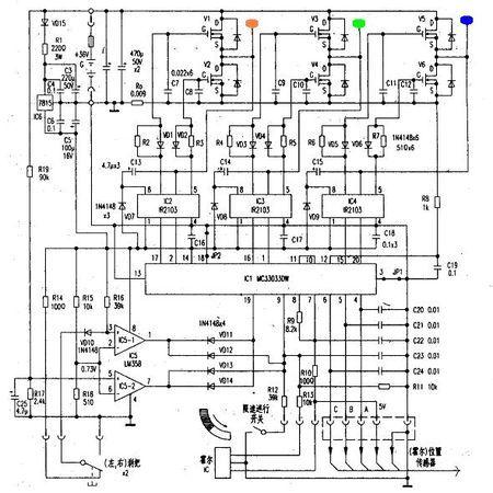谁知道电动车控制器原理图哪里下载