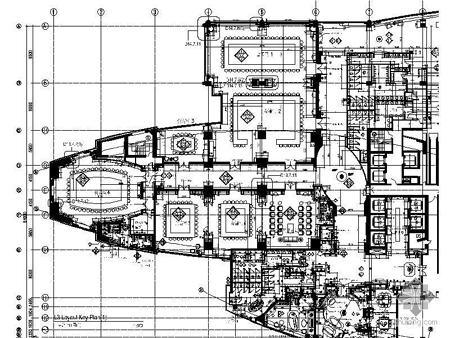 谁有西安香格里拉大酒店平面图?