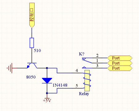 地图 电路 电路图 电子 原理图 450_359