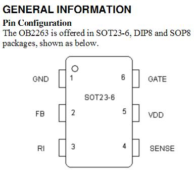 开关电源上用的一个6脚贴片芯片封装上面写着bdf,谁能