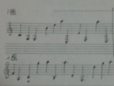 两句简谱 求翻译成钢琴五线谱 画图给我 悬赏可加