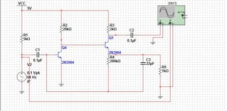 关于三极管的音频放大电路