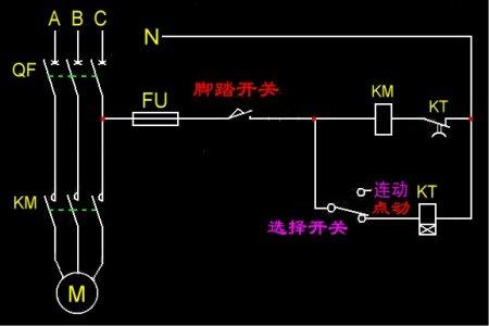 求冲床控制电路图图片