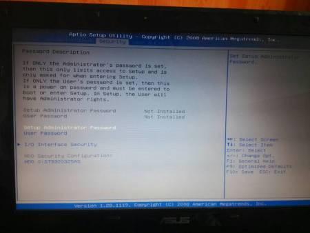 华硕笔记本,重装系统后,biso里面没有硬盘启动项了,只有刚开机按sec后