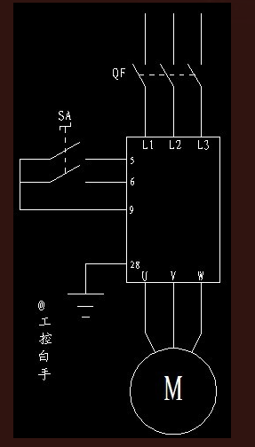 展开全部 西门子mm440变频器控制电机正反转接线图及参数设置 1.