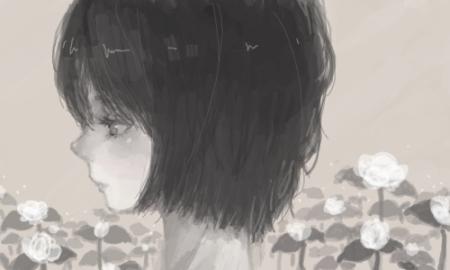 求一张图片,要用来做小说封面的,要唯美,伤感的真人图片,最好要有樱花