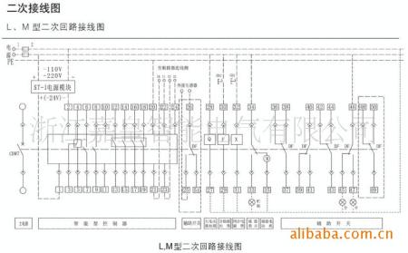 我想知道dw15-630万能断路器的接线图