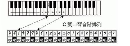 新手求助,24孔复音口琴教程.图片