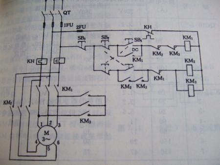 求三相电机正反转控制线路以及星三角降压启动控制线路图
