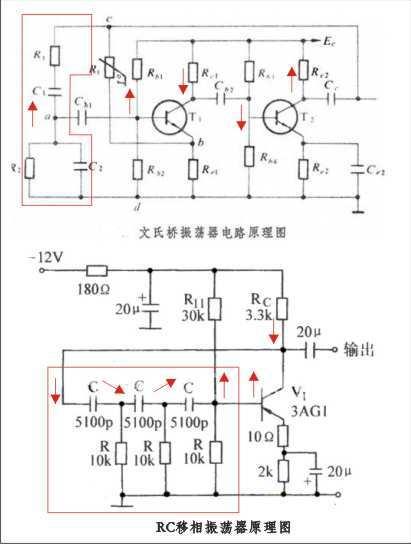 正反馈振荡电路如何判断 如何起震,一般的rc充放电振荡电路原理是什么