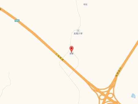 遂溪县龙驾村卫星地图