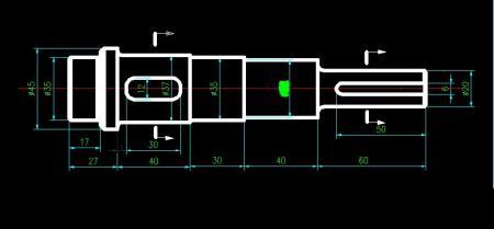 求助课程设计作业:减速器装配图,大齿轮零件图,输出轴