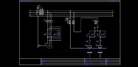 一个接触器只能配合倒顺开关来实现正反转.