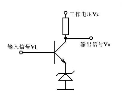 三极管,二极管,5v1整合成一个交流转方波电路