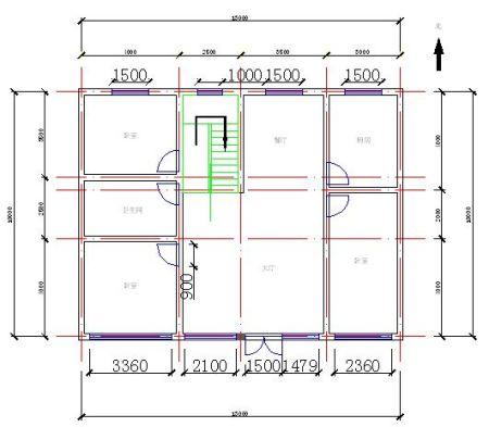 求一农村自建房设计图,为谢!