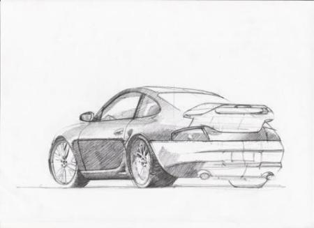 如何手绘汽车设计图_百度知道