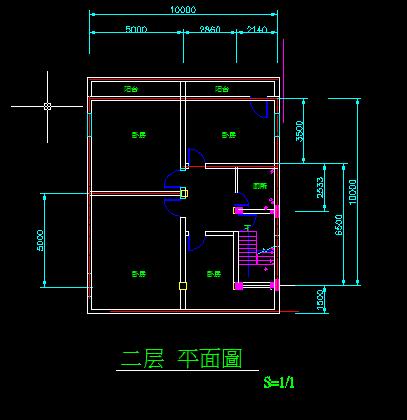 房屋室内设计图