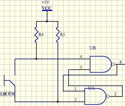 点动开关的消抖电路是怎样的一种电路?