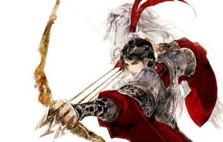 动漫古代男生握箭图片
