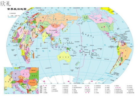 亚洲国家_求亚洲欧洲国家地图