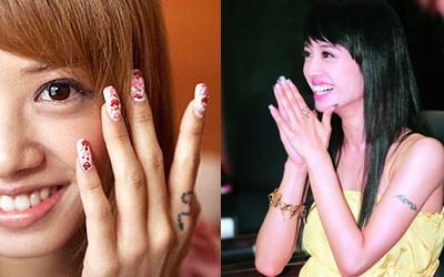 我想要在手上纹一个小蛇 想看看蔡依林手上的小蛇是什么样的 要图片图片