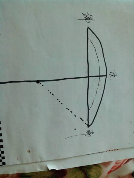 土木建筑工程木工怎样画弧形梁底