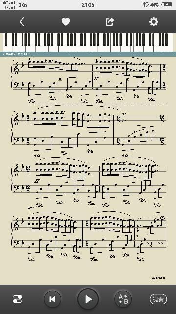 成都单手钢琴简谱