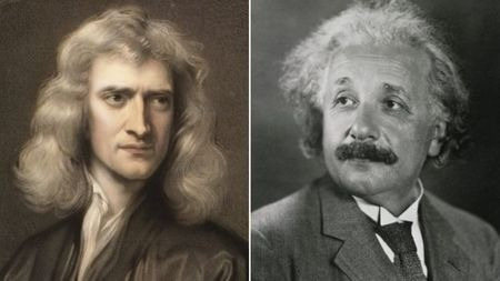 关于引力,爱因斯坦是对的,难道牛顿错了?的头图