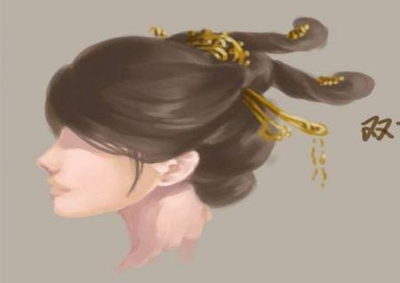 古代男子发型图片