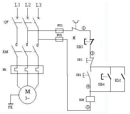 解决方案1: 1】工作原理电路图    电路图为电动机2地控制电路.