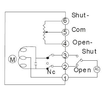怎么看懂belimo电动蝶阀接线图图片