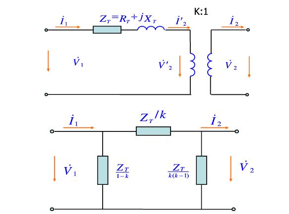 п型等值电路_变压器_型等值电路