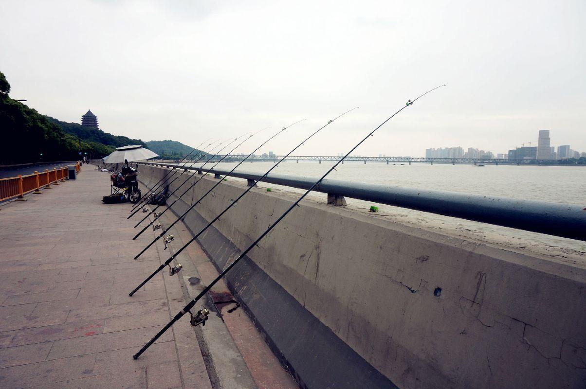 桥筏钓双钩线组图解