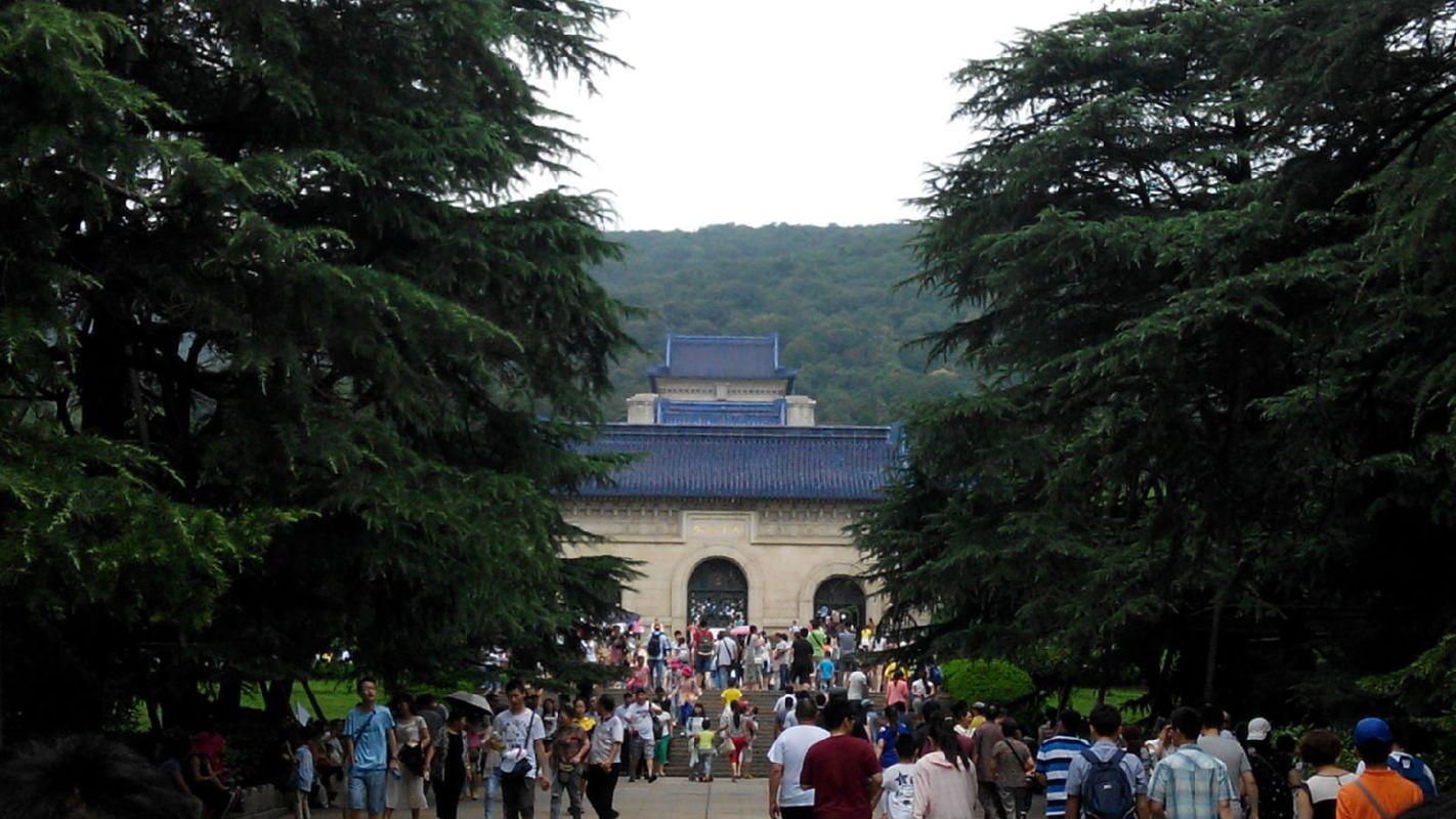 南京中山陵图片