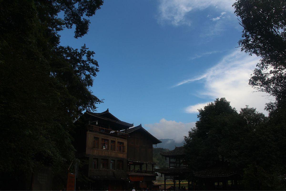 古老的民族(贵州西江千户苗寨)