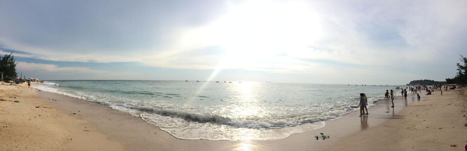 涠洲岛石螺口海滩图片