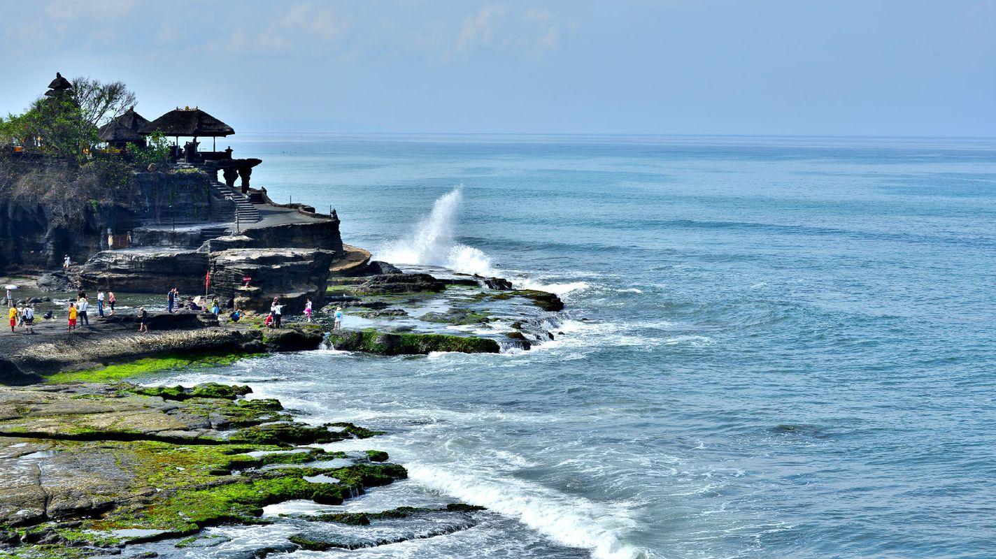 巴厘岛风情--海神庙