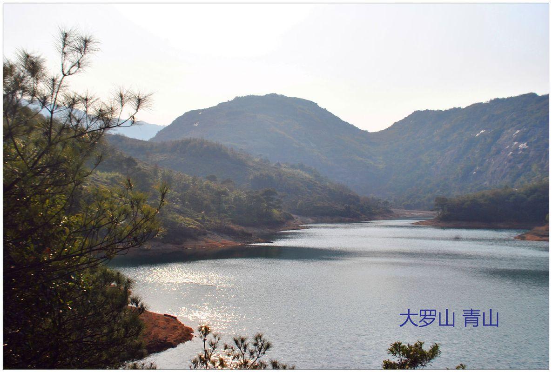 [106图]大罗山-瑶溪风景区位于东北部,包括五大子景区——千佛塔—
