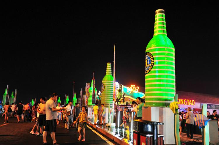 与奥运同欢 |青岛啤酒节 大虾免费送了!