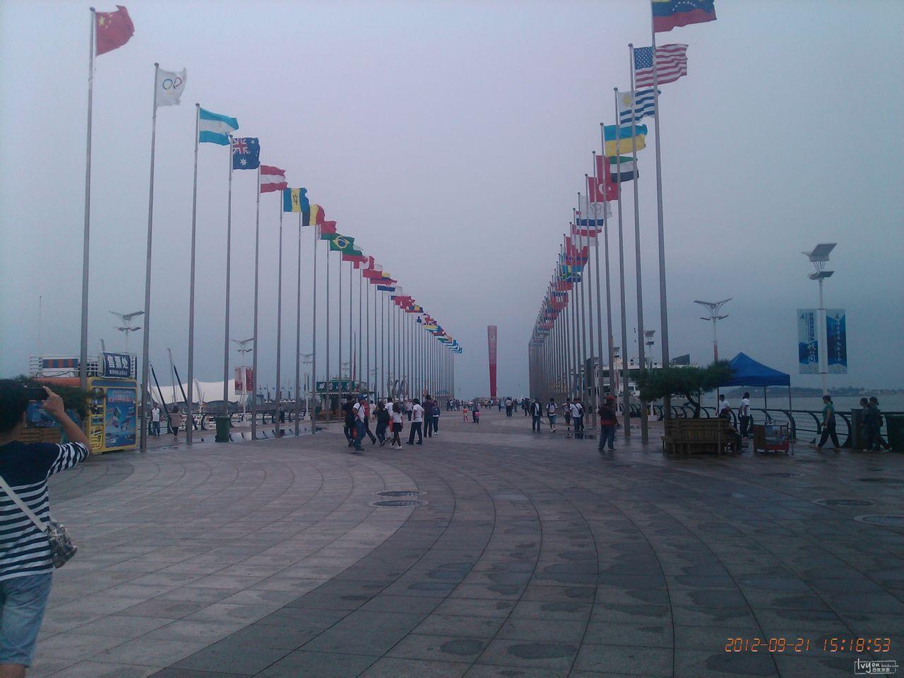 游记攻略 游记 北京青岛6日游  20号晚上从北京出发到青岛.