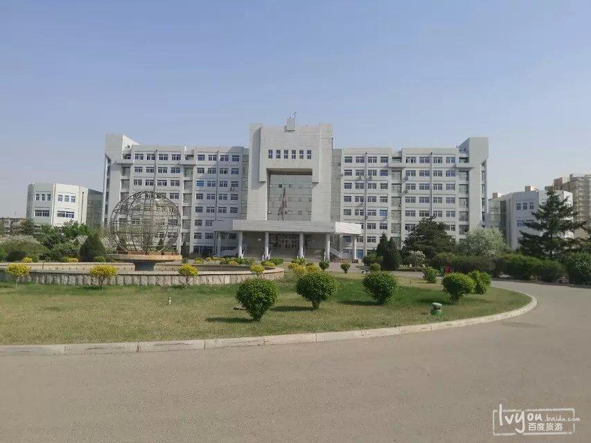 沈阳大学的校园风景