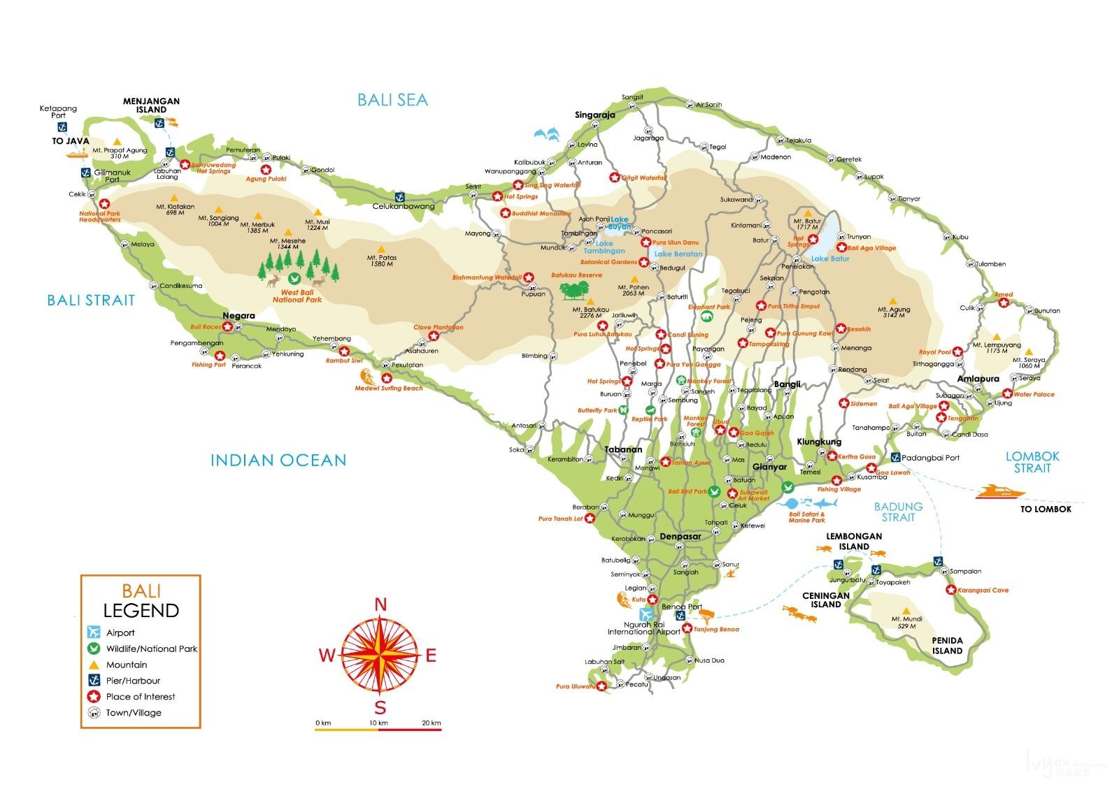 【百首纪念】大眼睛看小世界之印度尼西亚-巴厘岛与拉布安巴佐